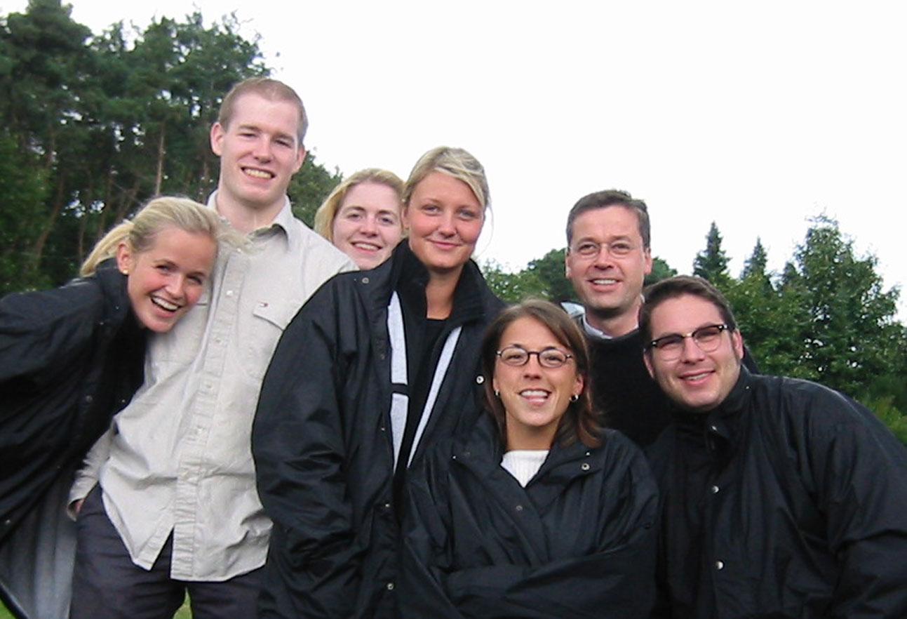 2001 Firmenausflug Paragliding