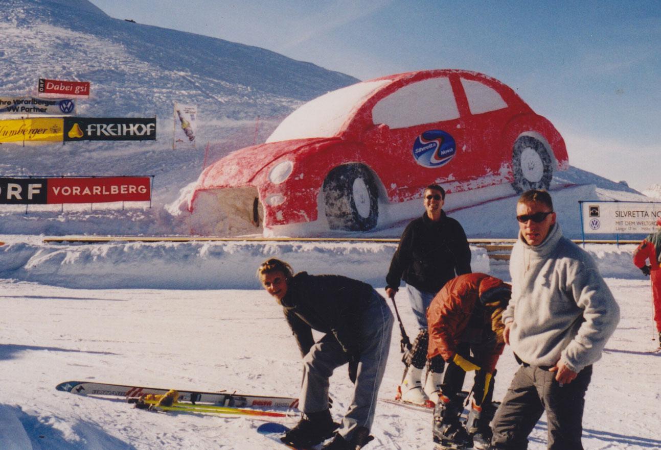 1999 Firmenausflug Skifahren St. Anton